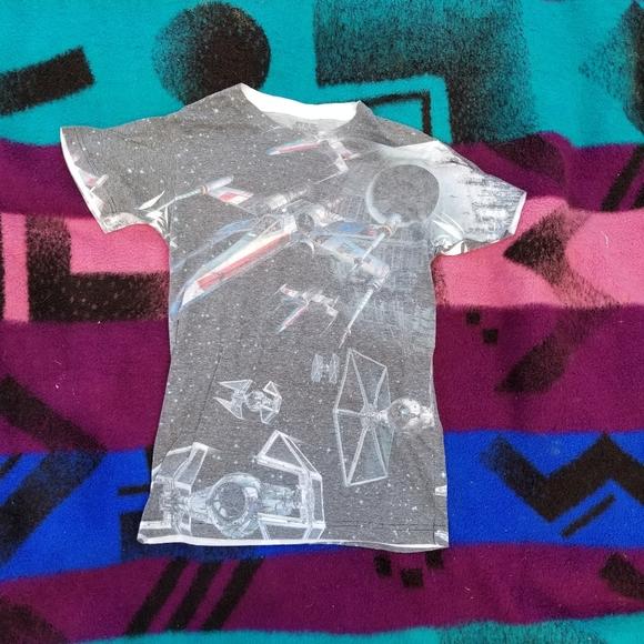 Star Wars all over print tshirt